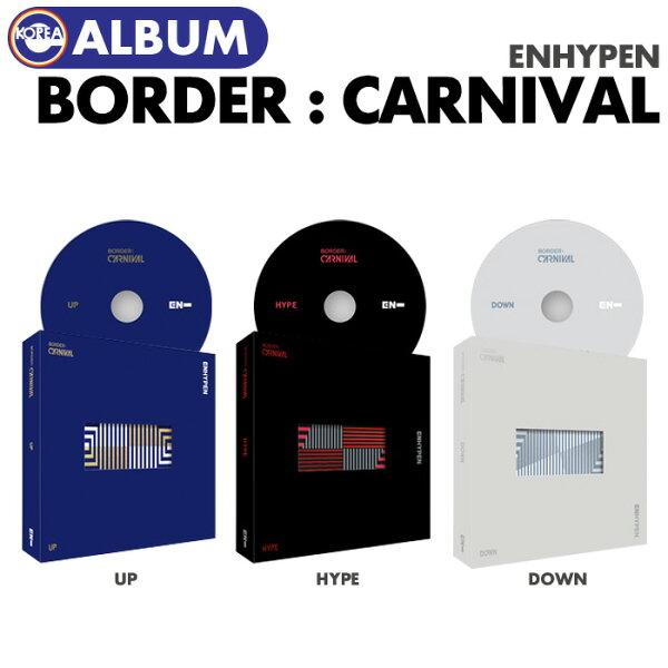 バージョンランダム/ENHYPENBORDER:CARNIVAL  1次  エンハイプンエンハイフンCD韓国チャート反映