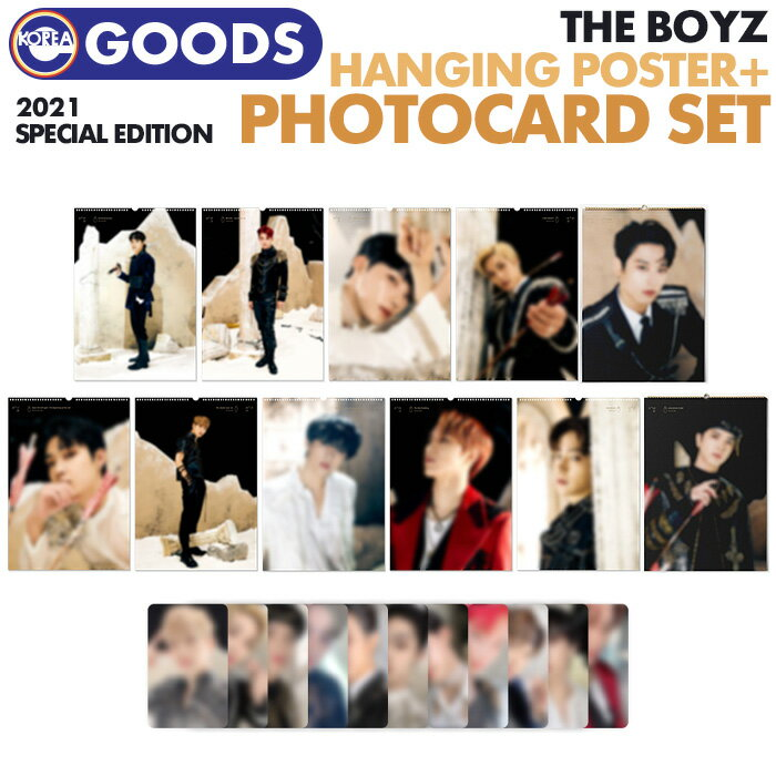 CD, 韓国(K-POP)・アジア  HANGING POSTER PHOTOCARD SET THE BOYZ 2021 SPECIAL EDITION OFFICIAL MD