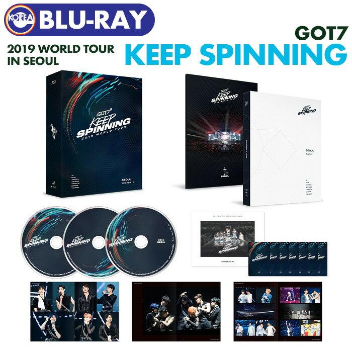 韓国(K-POP)・アジア, 韓国(K-POP)  Blu-ray GOT7 2019 WORLD TOUR KEEP SPINNING IN SEOUL CONCERT LIVE