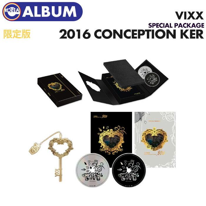 【初回限定ポスター(丸めて)付】【 VIXX CD+DVD / 2016 CONCEPTION KER Special Package L.E 】【即日発送】 ビクス びくす画像