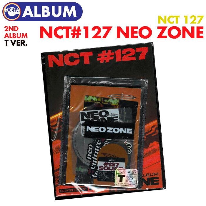 韓国(K-POP)・アジア, 韓国(K-POP)  T ver. NCT127 2 NCT 127 Neo Zone CD ALBUM