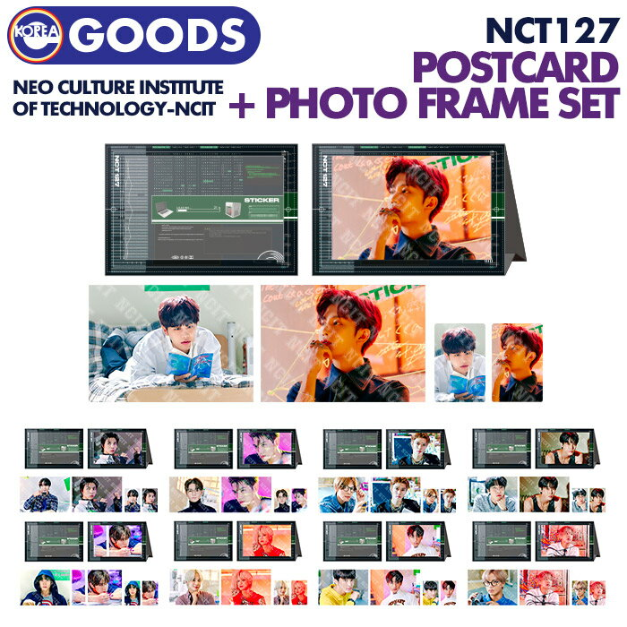 CD, 韓国(K-POP)・アジア 1 PHOTOCARDPHOTO FRAME SET NCT 127 NCIT - NEO CULTURE INSTITUTE OF TECHNOLOGY OFFICIAL MD
