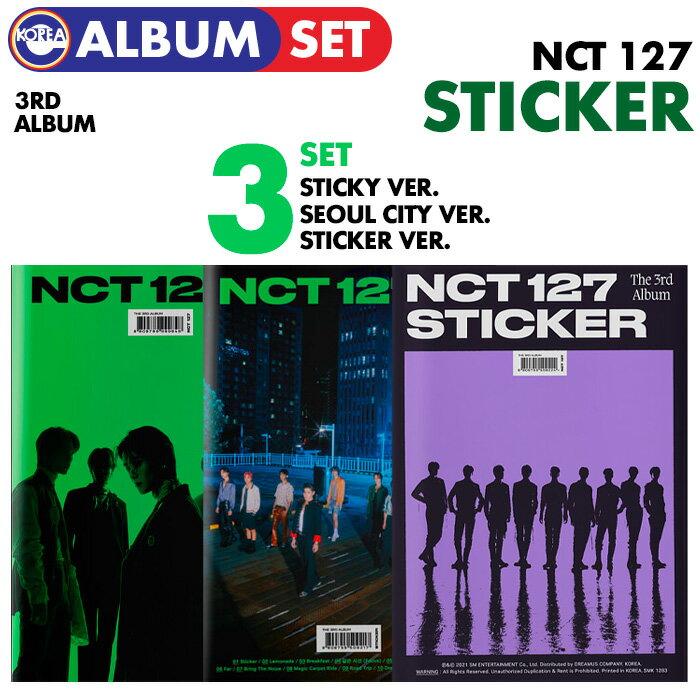 CD, 韓国(K-POP)・アジア  3 ( Sticker Ver. Sticky Ver. Seoul City Ver. ) () NCT127 3 Sticker CD