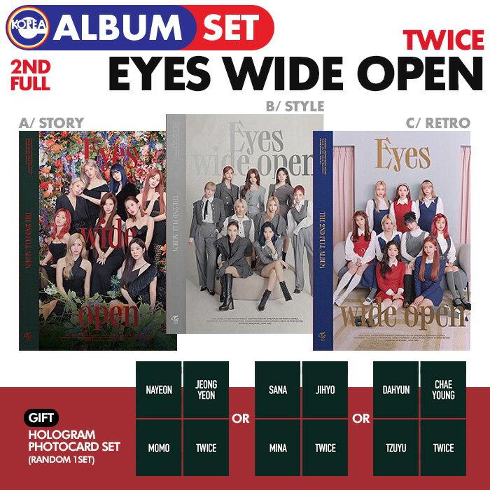 韓国(K-POP)・アジア, 韓国(K-POP) withDRAMA 3 () TWICE 2 Eyes Wide Open 1 THE 2ND FULL ALBUM CD