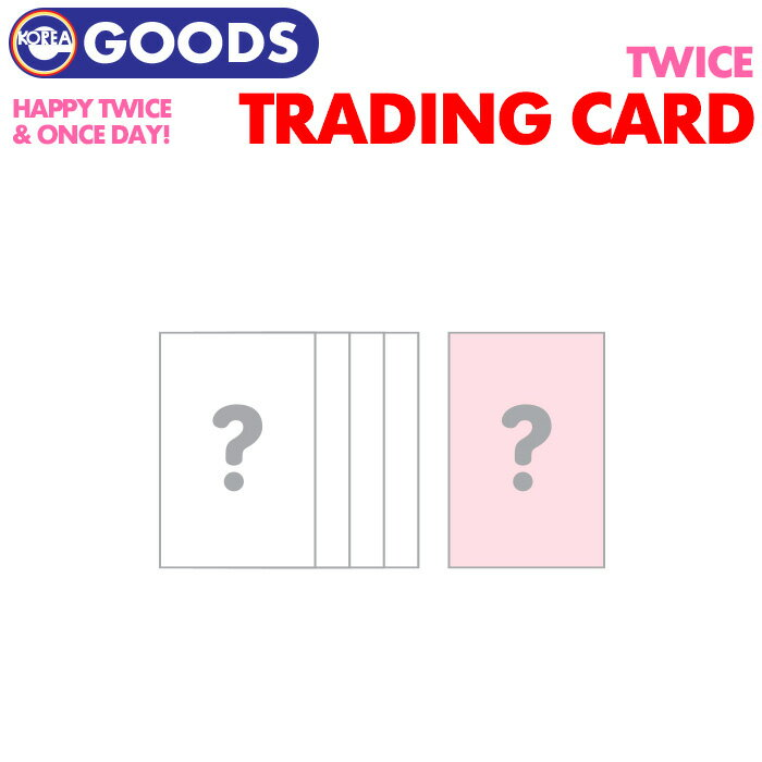 CD, 韓国(K-POP)・アジア 1 TRADING CARD HAPPY TWICE ONCE DAY! OFFICIAL MD