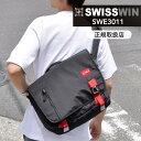送料無料 SWISSWIN スイスウィン ショルダーバッグ 軽量 12L メンズ 斜めがけバッグ メッセージバッグ 通学 鞄 アウトドア おしゃれ 通勤 防水 swisswin