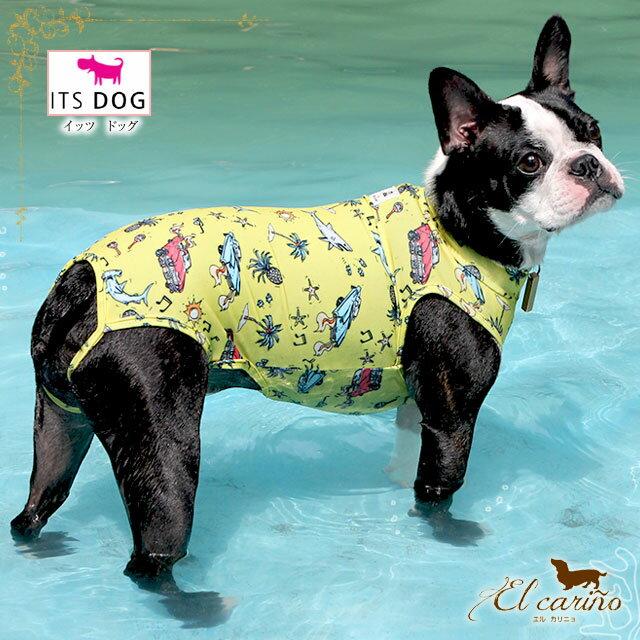 ITSDOG【正規輸入店】水着 ユニーク プール 海 服 かわいい