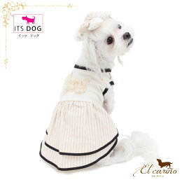 ITSDOG【正規輸入店】ワンピース袖なしオシャレ服かわいいオーガニック