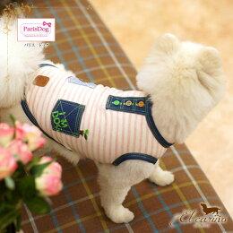 ParisDog【正規輸入店】Tシャツストライプカジュアル刺繍