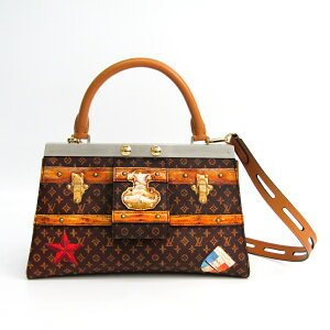 Louis Vuitton SAC CROWN FRAME PM TIME TRUNK M43946 Ladies Handbag
