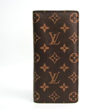 ルイ・ヴィトン(Louis Vuitton) モノグラム ポルトフォイユ・ブラザ M66540 メンズ モノグラム 長財布(二つ折り) モノグラム 【中古】