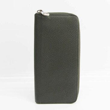 ルイ・ヴィトン(Louis Vuitton) トリヨン ジッピーウォレット ヴェルティカル M58804 メンズ トリヨンレザー 長財布(二つ折り) アントラシット 【中古】