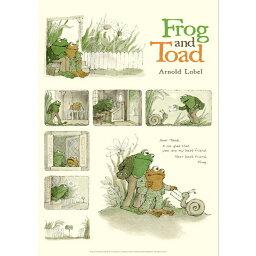 がまくんとかえるくん(FROG AND TOAD)B4サイズ・ポスター|The Letter