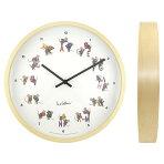 【ご予約2月上旬発売】レオ・レオニ(LEOLIONNNI)ウォールクロック『Time』