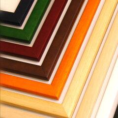 9色17サイズの充実したコレクションに対応♪☆木製額縁 / ポスターフレーム(特注サイズ専用フ...