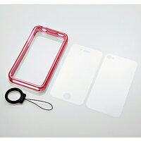 iPhone4のスタイルを損なわない、バンパータイプ[携帯電話関連アウトレット][アウトレット]iPho...