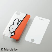 うさぎの女の子「ミッフィー(うさこちゃん)」デザインモデル!iPhone4S用シェルカバーと保護フィ...