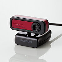 イヤホンマイク付200万画素Webカメラ:UCAM-C0220FEWH[ELECOM]