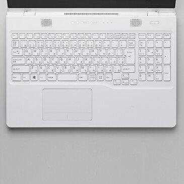 エレコム 富士通 LIFEBOOK AH77シリーズ 対応のキーボードカバー PKB-FMVAH5 deal0401