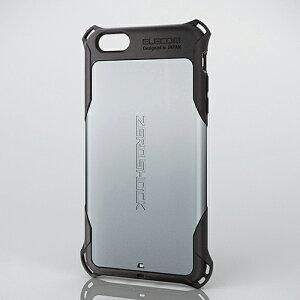 全方向からの衝撃を吸収するZEROSHOCKモデル!4つの衝撃吸収構造で衝撃から守るiPhone 6 Plus用Z...