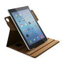 エレコム iPad Air2 ケース ソフトレザーカバー 360度回転スタンド TB-A14360WH