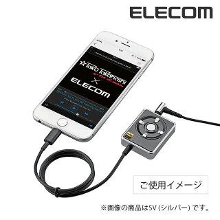 【送料無料】iPhoneでハイレゾ再生!ハイレゾ変換Lightningアダプター+ハイレゾイヤフォンのセット:LHP-CHR192GD[Logitec(ロジテック)]