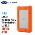【送料無料】Rugged RAID Thunderbolt USB3.0 4TB/サンダーボルト対応ポータブルHDD(ハードディスク) 4TB:STFA4000400