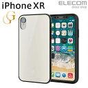 エレコムダイレクトショップで買える「エレコム iPhone XR ケース ガラスケース GRAN GLASS ホワイト スマホケース iphoneケース PM-A18CHVCG3WH」の画像です。価格は108円になります。