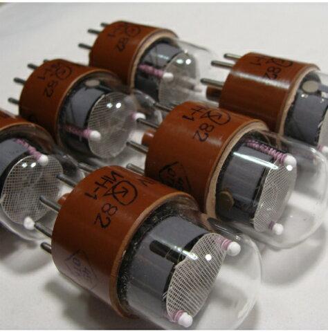 ロシア製ニキシー管 IN-1 IN1 6個セット ニキシー管時計等に 電子部品 自作パーツ
