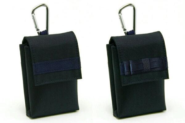 ポスト投函 キッズケータイケースナイロン製ランドセル対応紺無地防犯ブザーケース携帯電話ケースみまもり携帯ケース お受験バッグの
