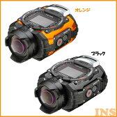 RICOH アクティビティカメラ WG-M1-BK・WG-M1-OR ブラック・オレンジ【D】【KB】[デジタルカメラ/カメラ/小型/コンパクト/防水]【送料無料】