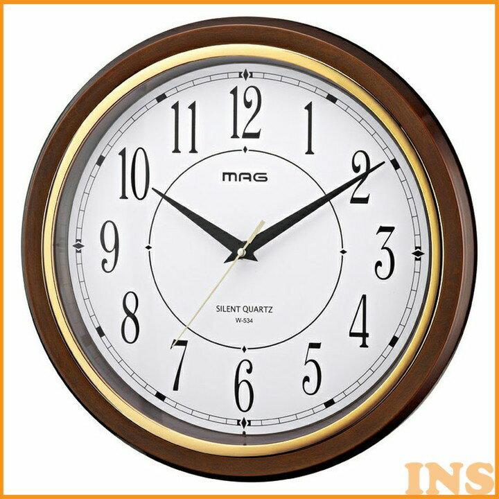 MAG掛時計 W-648 BR-Z壁掛け時計 掛け時計 壁時計 シンプル 壁掛け時計壁時計 壁掛け時計シンプル 掛け時計壁時計 壁時計壁掛け時計 シンプル壁掛け時計 壁時計掛け時計 ノア精密 【TC】