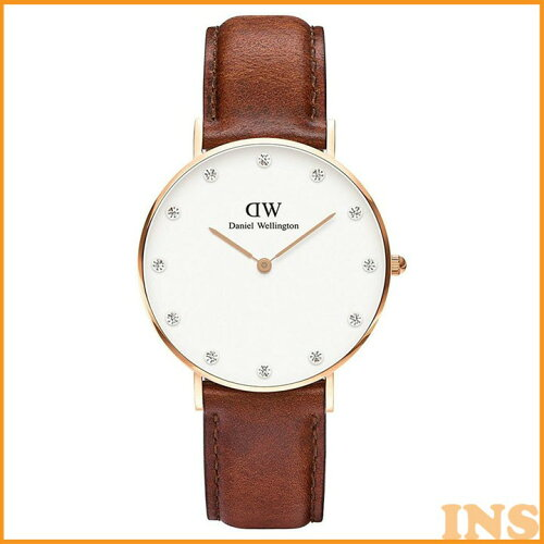 Daniel Wellington 34mm Rose Gold Classy St. Mawes 0950DW 送料無料 時計 腕時計 アナログ レデ...
