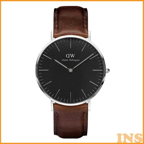 Daniel Wellington 40mm Silver Classic Black Bristol DW00100131 送料無料 時計 腕時計 アナログ...