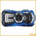 リコー 防水カメラ 特典SDHC8GB付 ブルー WG40W...