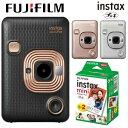 チェキ 本体 カメラ ハイブリッドインスタントカメラ instax mini LiPlay HM1