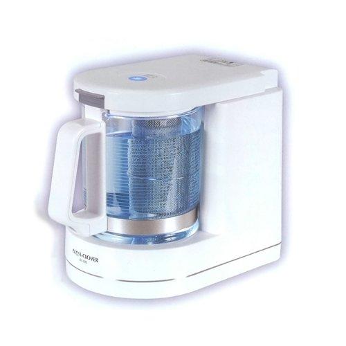 送料無料 新品 1年保証付●ナノバブル水素水生成器 ミネラル水素水生成器 アクアクローバー●箱、説明書付●:Lエル