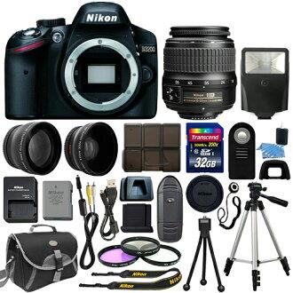 預訂銷售 (大約 2 個星期的等待) 全新總分 26 集品牌新尼康尼康 D 3200 尼康 18-55mm f/3.5-5.6G ED 二 af-s DX 尼克爾變焦鏡頭數碼單反相機