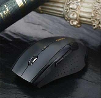 新品牌-與無線滑鼠 USB 接收器黑色光電滑鼠 2.4 g h z USB 無線光學滑鼠電腦硬碟