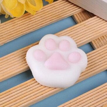 新品 送料無料 スクイーズ 肉球 小サイズ 猫の肉球 低反発 ぬいぐるみ おもちゃ 動物 かわいい ストラップ 握る ストレス解消 もちもち