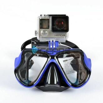 新品牌圖書銷售-為 GoPro GoPro 游泳面具護目鏡 go Pro 為潛水浮潛水下水下攝影護目鏡