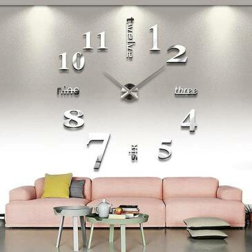 送料無料 新品 外箱に痛み有り 壁に貼る  壁時計 ウォールクロック ステッカー DIY ウォールクロック 時計 ウォールステッカー ウォールクロック
