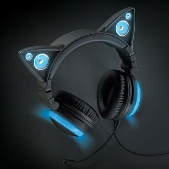 品牌新入耳式耳機 Axent 穿貓耳耳機帶領藍色紅色紫色綠色耳機耳耳機