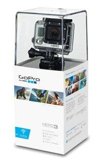 日本版品牌新 GoPro GOPRO 可穿戴相機 HERO3 白色版最多至 40 米