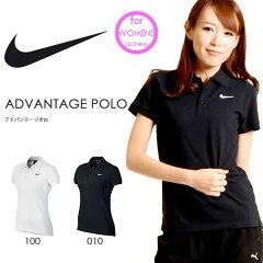 ポロシャツ ナイキ NIKE レディース アドバンテージ ポロ 半袖 シャツ ADVANTAGE POLO スポーツ カジュアル テニス ゴルフ ロゴ ワンポイント