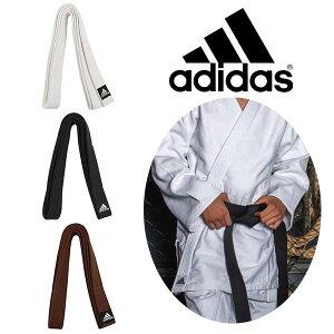 柔道 帯 トレーニング用 白帯 黒帯 茶帯 エリート アディダス adidas 幅45mm 練習用 ADIB240JPE