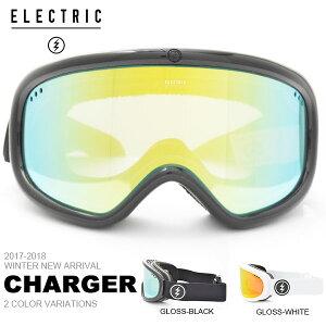送料無料 スノーゴーグル ELECTRIC エレクトリック CHARGER チャージャー アジアンフィット 日本正規品 メンズ レディース ユニセックス スノボ スノー ボード 平面レンズ 得割25