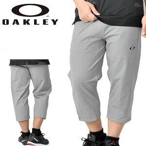 送料無料 七分丈 フリース パンツ OAKLEY オークリー メンズ Enhance LT Fleece 3/4 Pants 10.0 7分丈 スウェット ロングパンツ トレーニング ランニング ジム スポーツ グレー FOA400825 27B 2020春夏新作 得割20