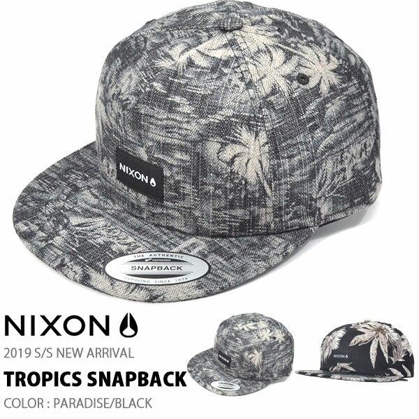 レディース帽子, キャップ  NIXON TROPICS SNAPBACK CAP BB 35off