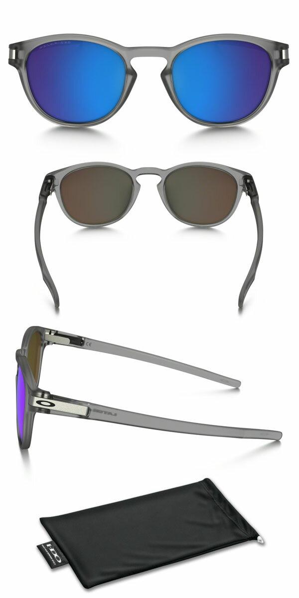 クリップシステム搭載送料無料サングラスOAKLEYオークリーLATCHPOLARIZEDラッチポラライズド偏光レンズアジアンフィット眼鏡アイウェア
